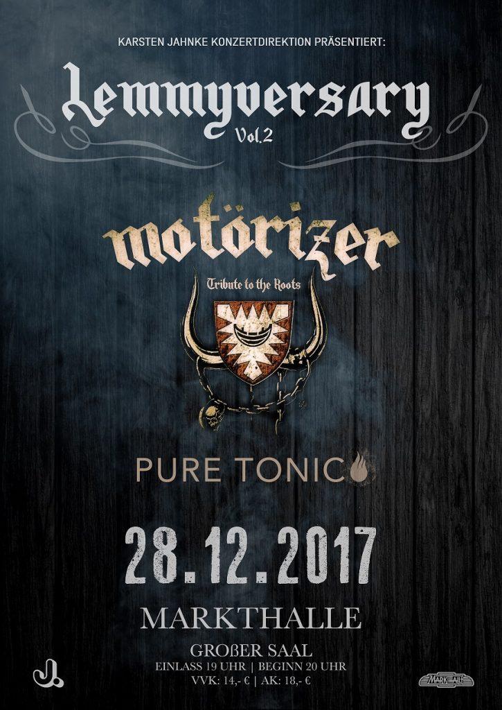Motörizer Motörhead Tribute Band Lemmyversary 2
