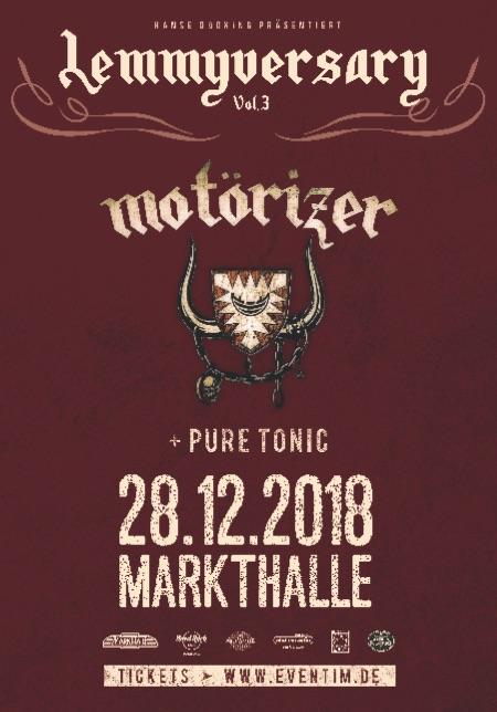 Motörizer Motörhead Tribute Band Lemmyversary 3
