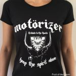 Motörizer Motörhead Tribute Band - T-Shirt Ladies