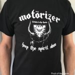 Motörizer Motörhead Tribute Band - T-Shirt Men