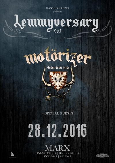 Motörizer Motörhead Tribute Band Lemmyversary 1