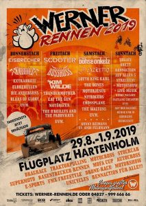 Motörizer -Motörhead Tribute Band- Werner Rennen 2019