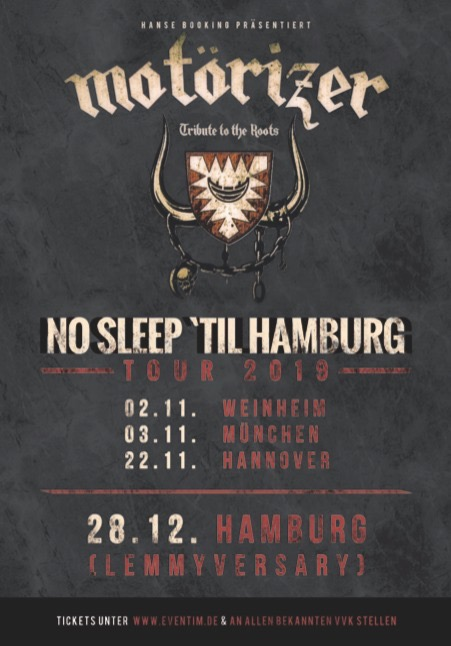 Motörizer No Sleep Til Hamburg 2019